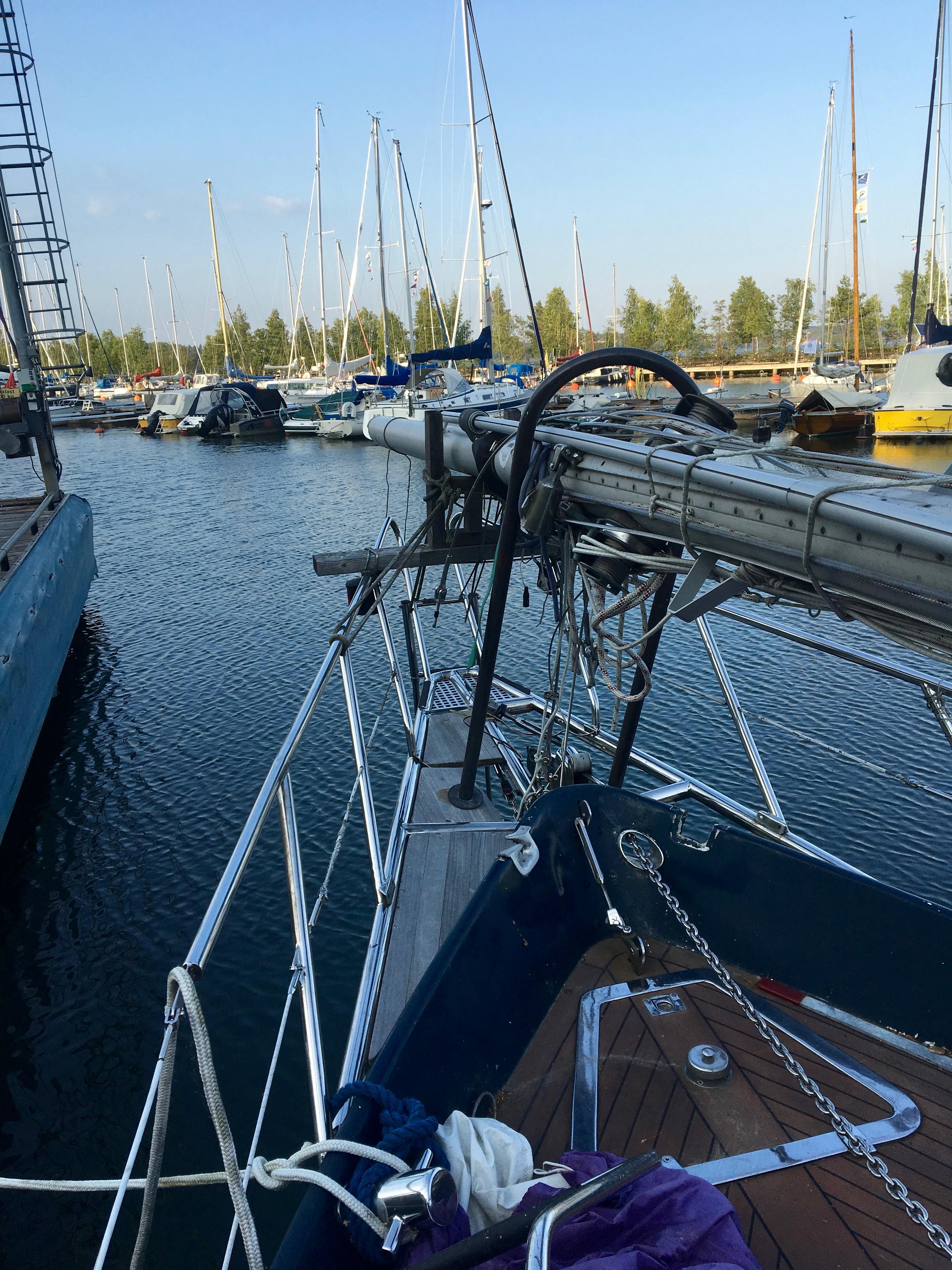 bowsprit sailboat