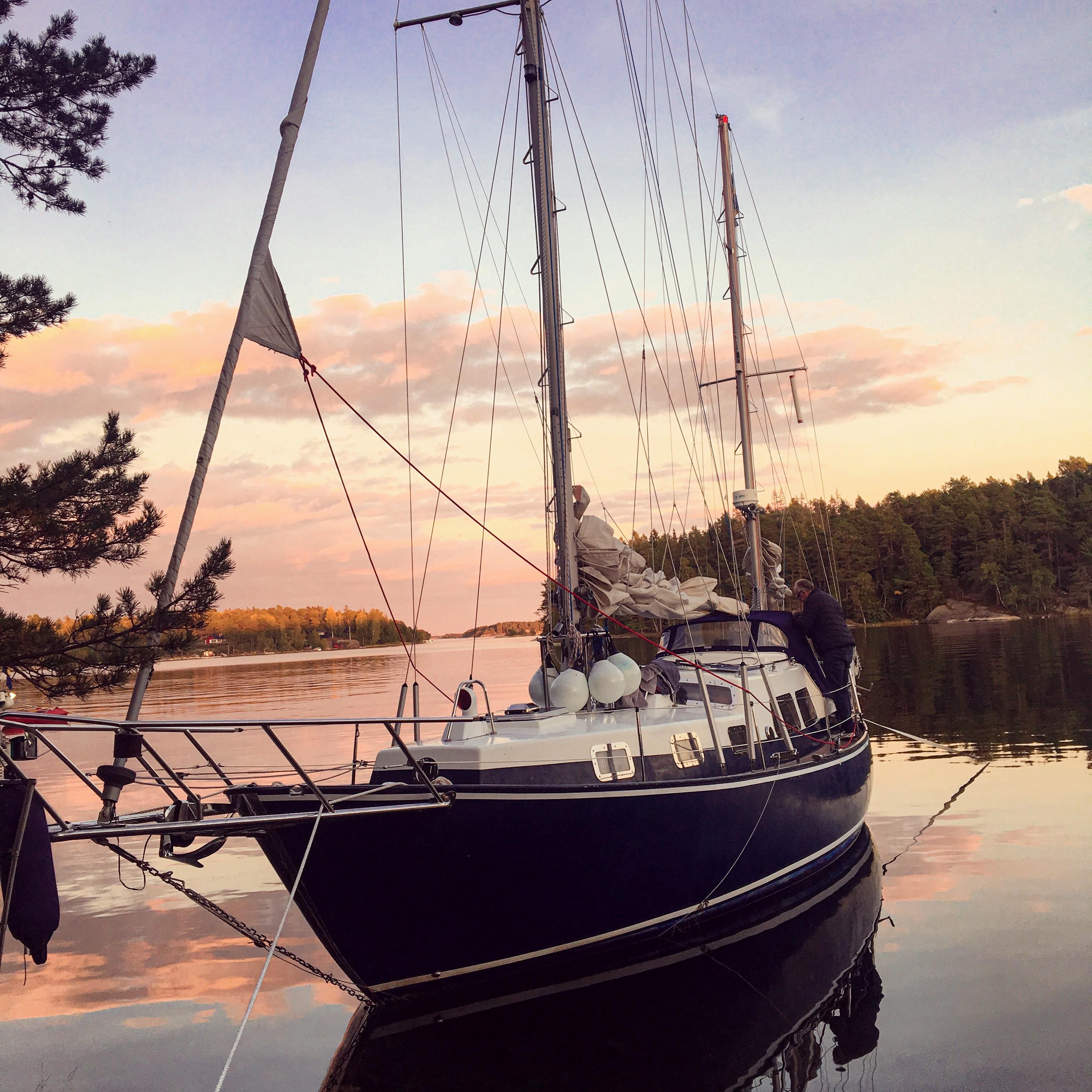 Lådna Stockholm archipelago.