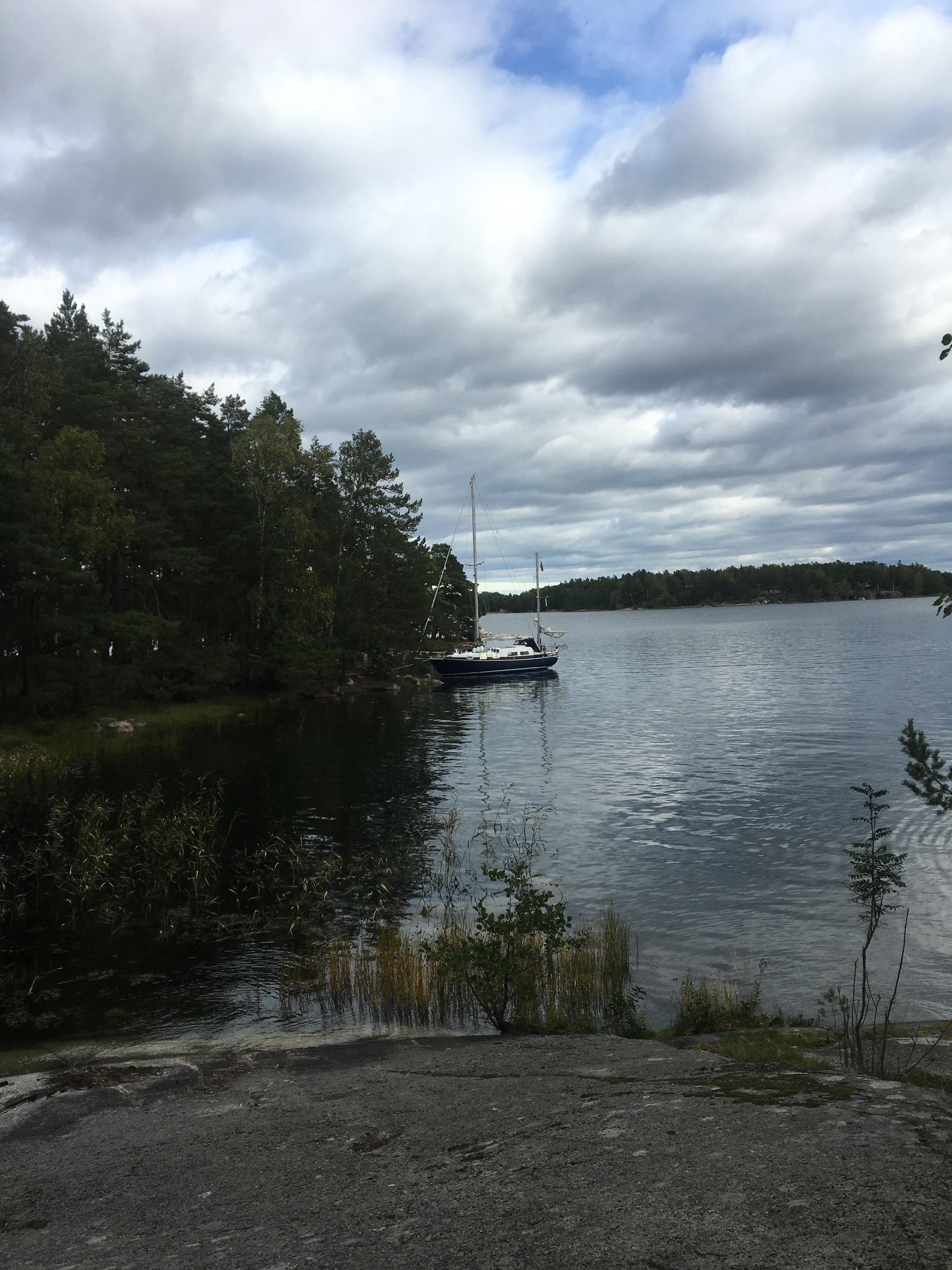 Skomakarviken Lådna Stockholm archipelago