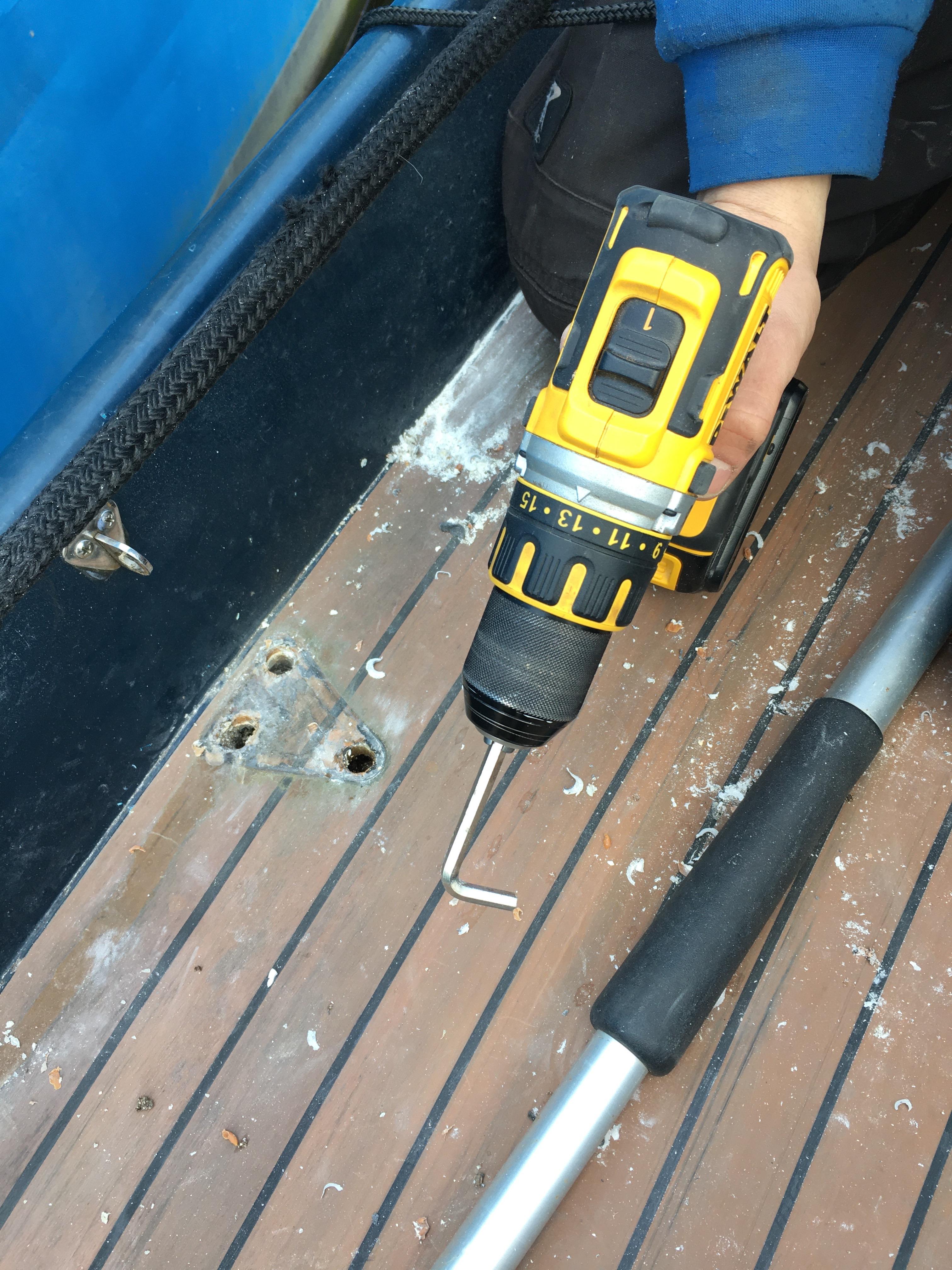 deck leakage repair