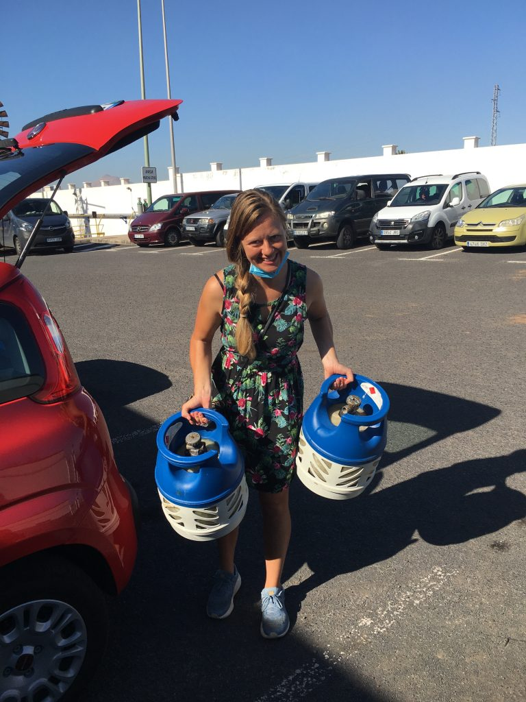 refill gas bottes canary islands